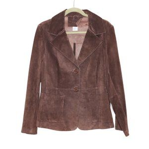 April Cornell | Genuine Leather Brown Jacket M